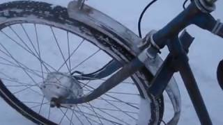 ЕЛЕКТРОВЕЛОСИПЕД 350W СВОИМИ РУКАМИ на базе Минска ОБЗОР Видео 1.