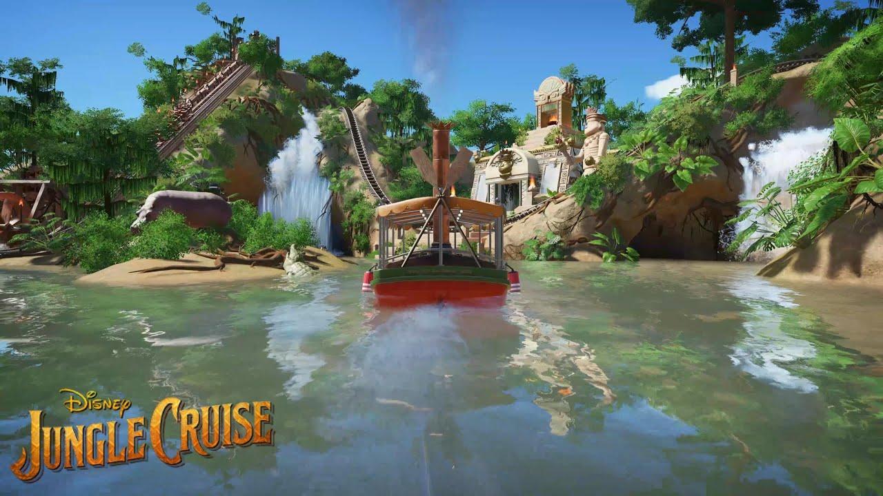 "【Disney】プラネットコースター ウォーターライド 「ジャングルクルーズ・改」/ ""Super Jungle cruise!?"" Water ride at Planet Coaster"