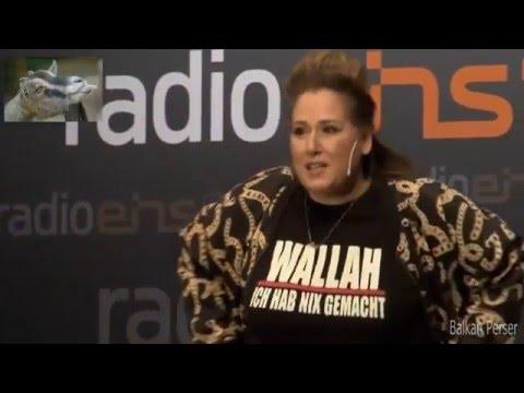 Freiheit für Böhmermann- IDIL BAYDAR als JILET AYSE beim Satire Show