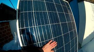 Солнечная электростанция 1 кват в своём доме , выработка за 1 день декабря.