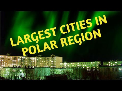 10 Largest Cities In Polar Region