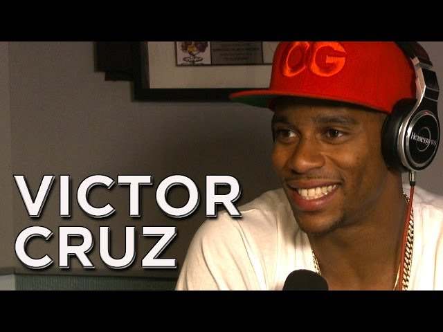 Victor Cruz Talks Giants,Marriage And Laura Being Thirsty!