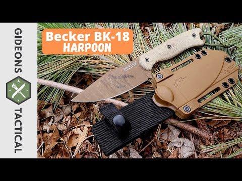 Fantastic Option! Becker BK-18 Harpoon