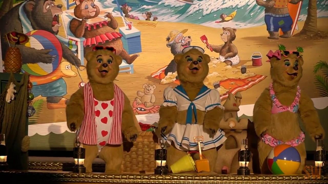 [HD] Country Bear Vacation Jamboree at Tokyo Disneyland ...
