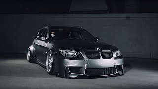 homepage tile video photo for BMW E91Lamborghini | Lowdaily | Clinched Flares