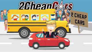 Get $1,000 cash back only at 2 Cheap Cars this weekend!*