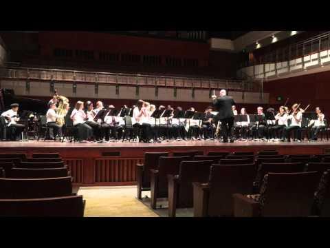 Chapelgate Christian Academy Symphonic Band ACSI 2016 Purple Whispers
