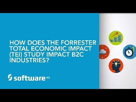 How does the Forrester Total Economic Impact (TEI) Study impact B2C industries?