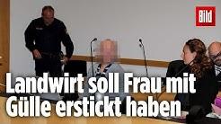 Bauer wegen Totschlags an seiner Ehefrau zu 13,5 Jahre Haft verurteilt