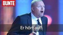 Stefan Raab hört auf! - BUNTE TV