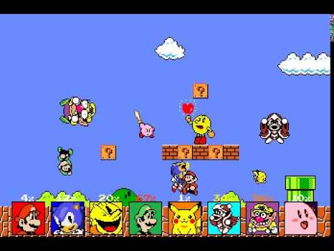 super smash bros nes rom