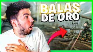 WARZONE con el *NUEVO* ARMA de BALAS DORADAS!