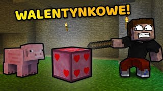 WALENTYNKOWY OPENING LUCKY BLOCK! - Minecraft Caveblock 2.0