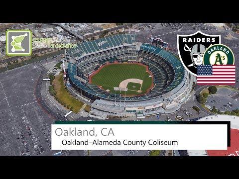 Oakland, CA - Oakland–Alameda County Coliseum / 2016