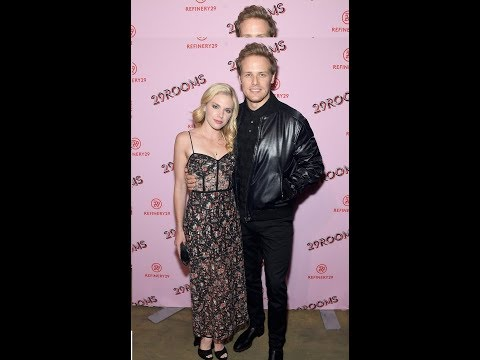 Sam Heughan & Girlfriend MacKenzie Mauzy Make Rare Appearance During NYFW