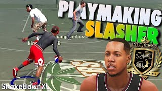 Video 1on1 & Playground / NEW SLASHING PLAYMAKER Build - NBA 2K18 Archetype download MP3, 3GP, MP4, WEBM, AVI, FLV Januari 2018