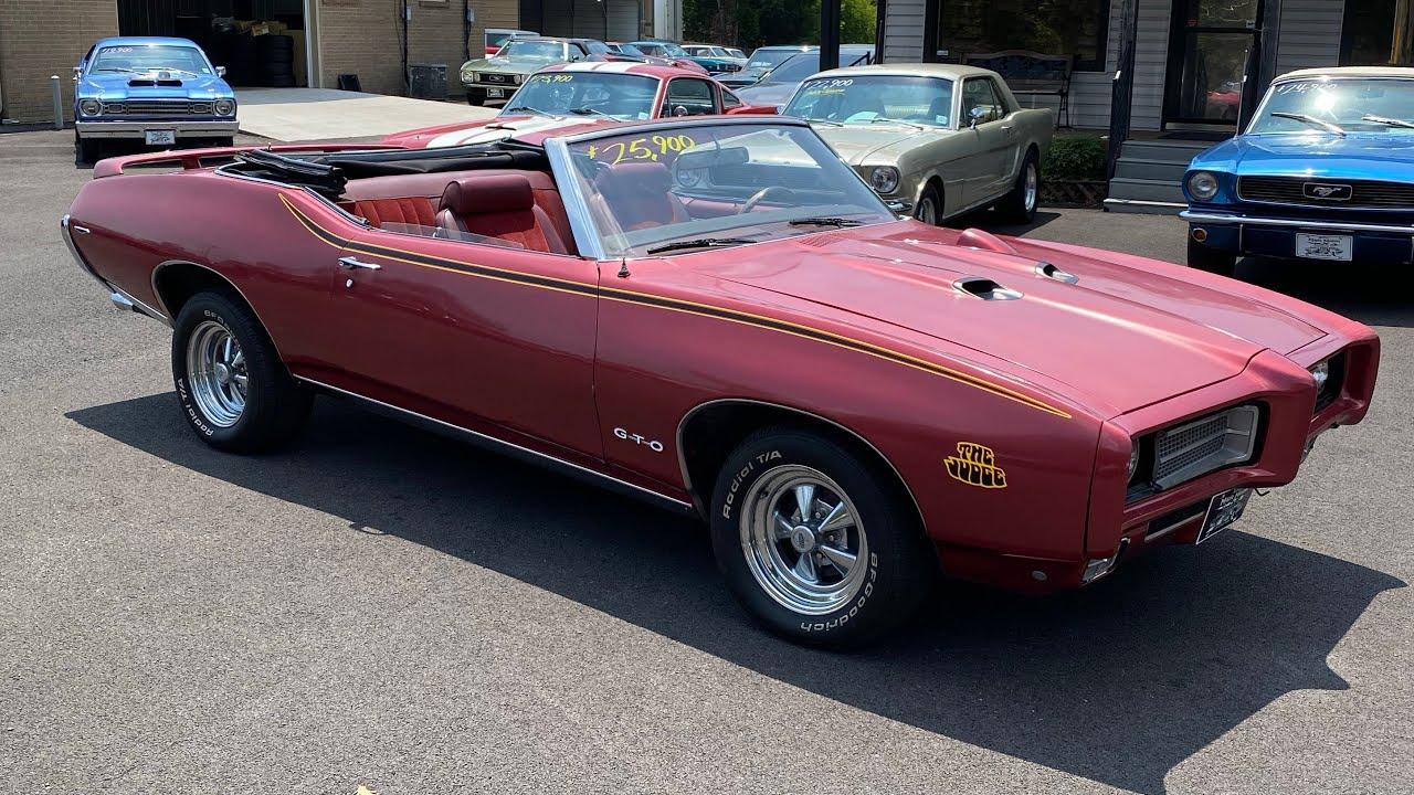 Test Drive 1969 Pontiac Lemans Convertible $25,900 Maple Motors #1163
