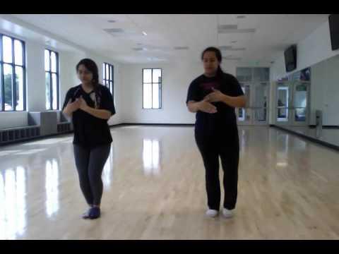 Tongan dance routine (tau'olunga)