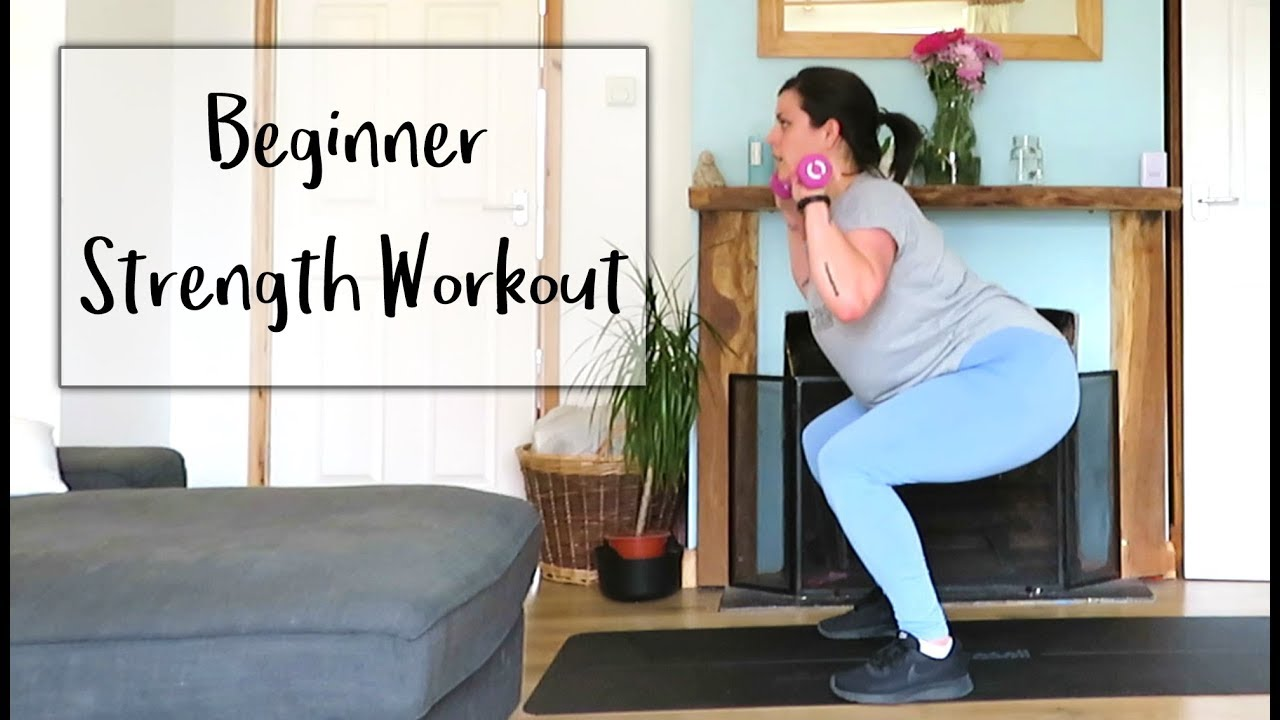 10 minute Strength Workout for Beginners - YouTube