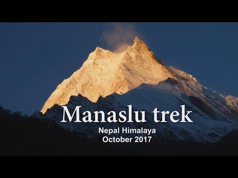 Manaslu trek Nepal 2017