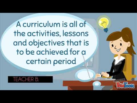 Meaning of Curriculum