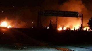 Israel strikes Iran targets in Syria