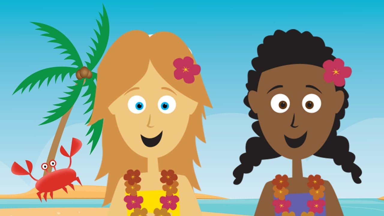 words shine when they rhyme tropical beach song for kids the