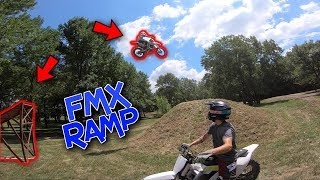 Best MX Day EVER   Hit the Freestyle Jump (SCARY)