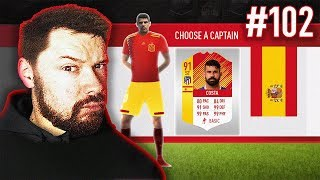 THIS CARD IS INSANE! - #FIFA18 DRAFT TO GLORY #102