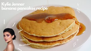 HOW TO MAKE KYLIE JENNER&#39S BANANA PANCAKE (EASY &amp DELICIOUS RECIPE!)