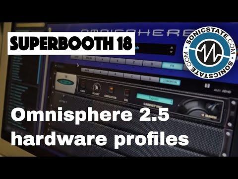 Superbooth 2018 - Spectrasonics Ominisphere 2.5