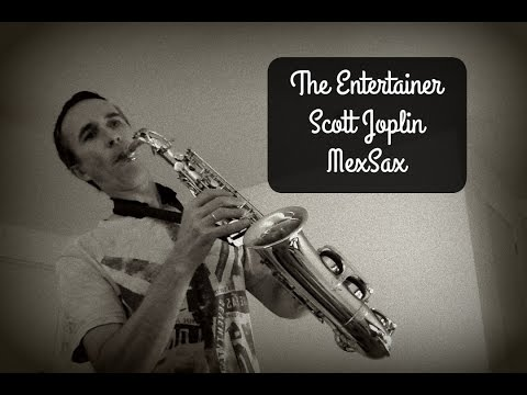 The Entertainer (Scott Joplin / Ragtime) Alto Sax