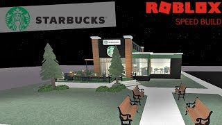 ROBLOX Studio - France Starbucks Speed Build (en)