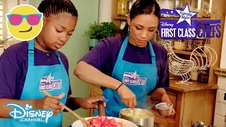 First Class Chefs: Family Style | Tantalising Tastebuds vs Sugar&Spice | Official Disney Channel UK
