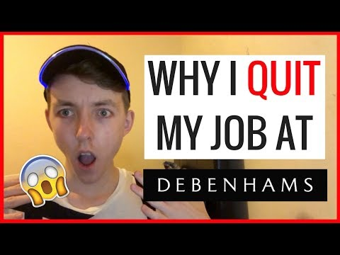 Why I QUIT My Job At DEBENHAMS (#YouShall Get The Tea) |  STORYTIME!!!