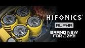 Hifonics Alpha Speakers NEW* 2019 - YouTube