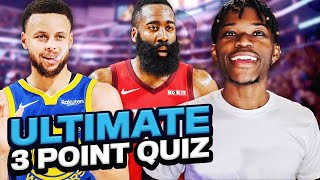THE ULTIMATE 3 POINT NBA QUIZ