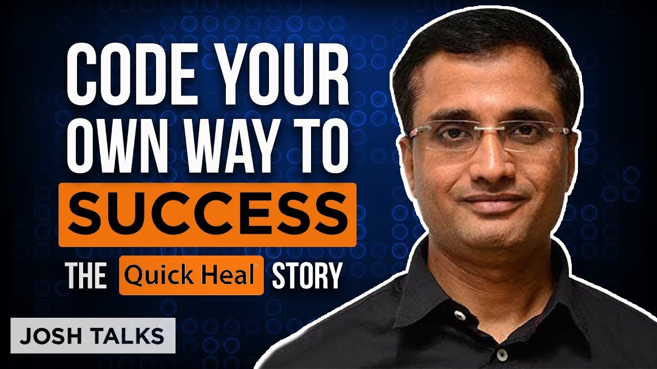 How You Can Start A Technology Startup In India | Sanjay Katkar | Inspiring Quick Heal Story