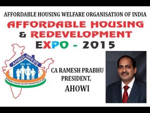 Affordable Housing & redevelopment, CA RAMESH PRABHU