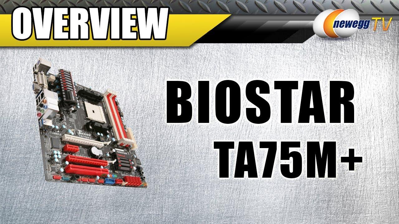 BIOSTAR TA75A+ ITE CIR DRIVER WINDOWS XP