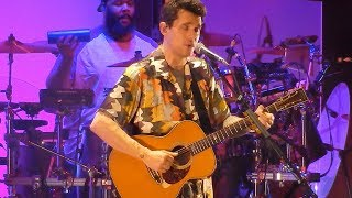 John Mayer - Who Says - Fiserv Forum - Milwaukee, WI - August 6, 2019 LIVE