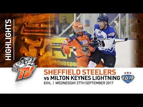 Sheffield Steelers v Milton Keynes Lightning - EIHL - 27/09/17