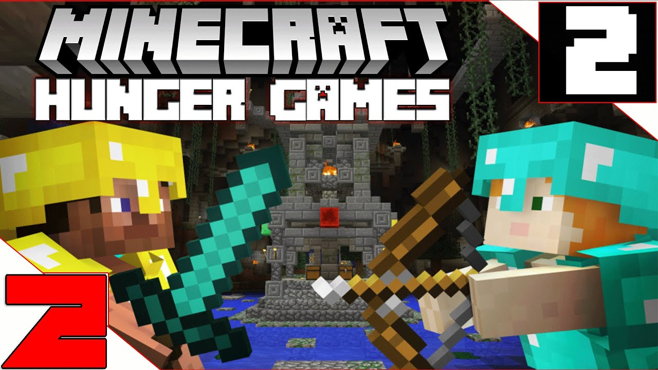 Minecraft: Hunger Games - Where are the naked men coming