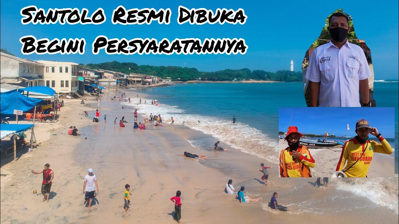 Pantai Santolo - Garut Resmi DIBUKA, Inilah Beberapa Persyaratan Untuk  Pengunjung Wisata #NewNormal