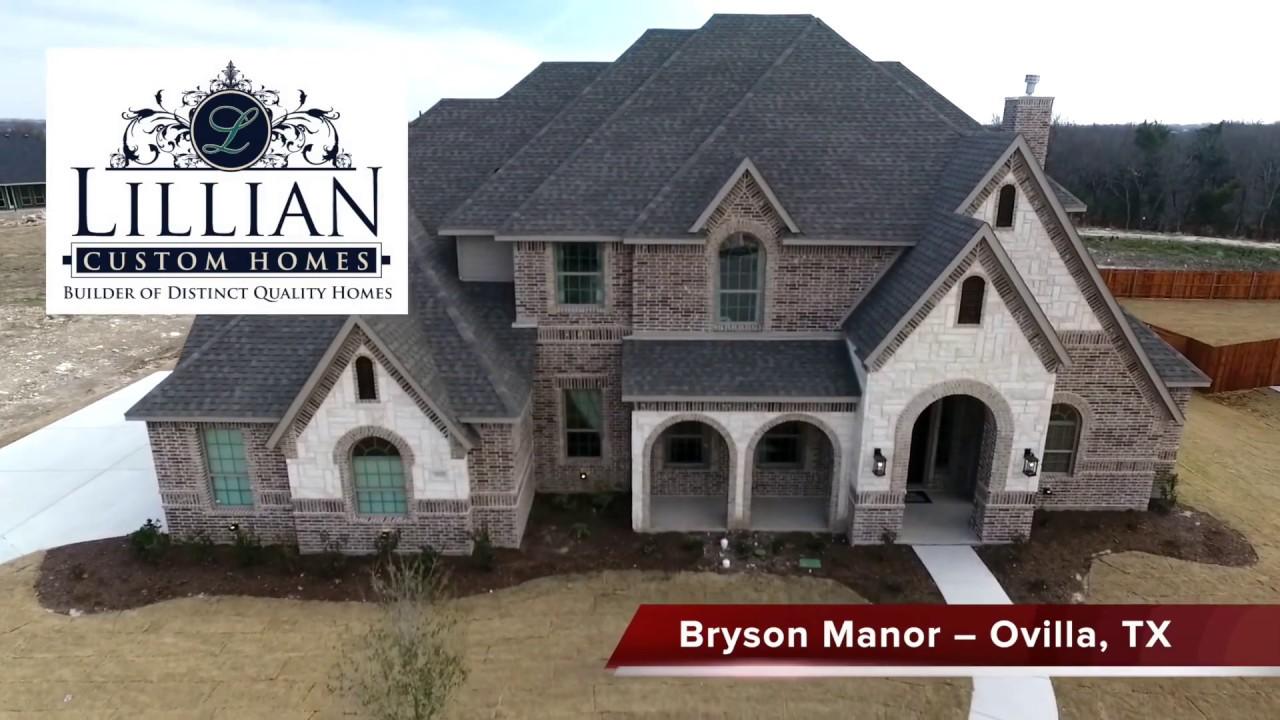 Lillian Custom Homes Bryson Manor Harper Model