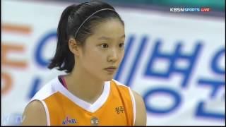 홍아란 Highlight - 16.11.05 (KEB 하나은행 VS KB 스타즈)