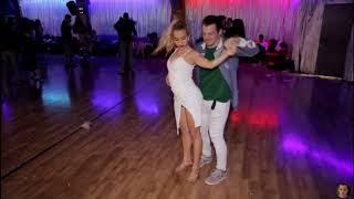 Lior(Me) And Liron @Social Sensual bachata dance [Playa Fa Sho']