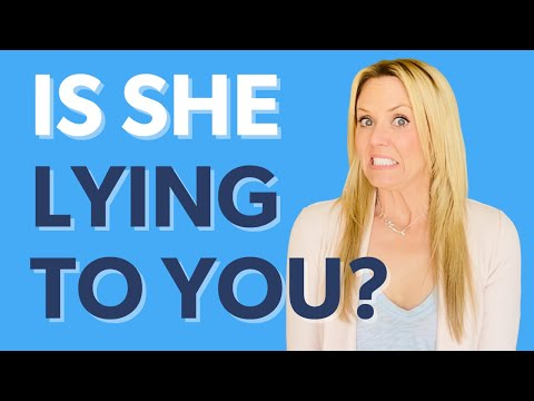 how to know if a girl is lying