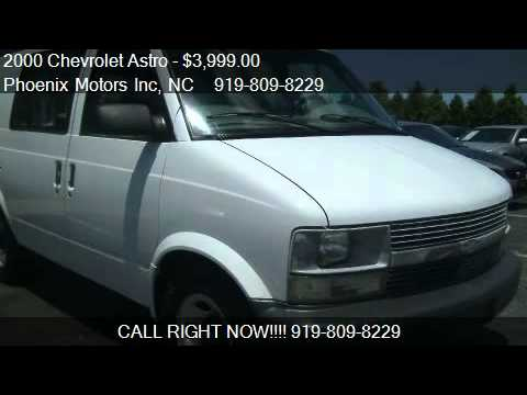 2000 Chevrolet Astro Cargo Van 2wd For Sale In Raleigh Nc Youtube