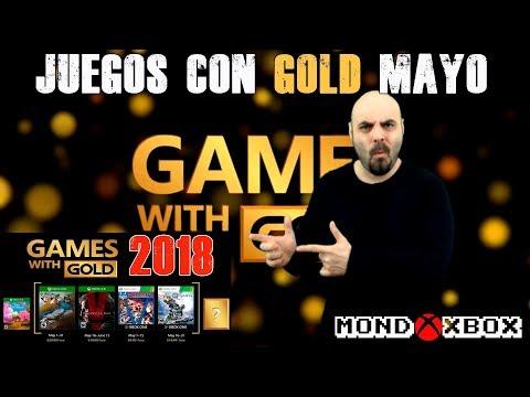 Juegos con Gold Mayo 2018 | Games With Gold May | MondoXbox